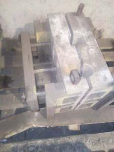 оборудование для литья алюминия, кокиль