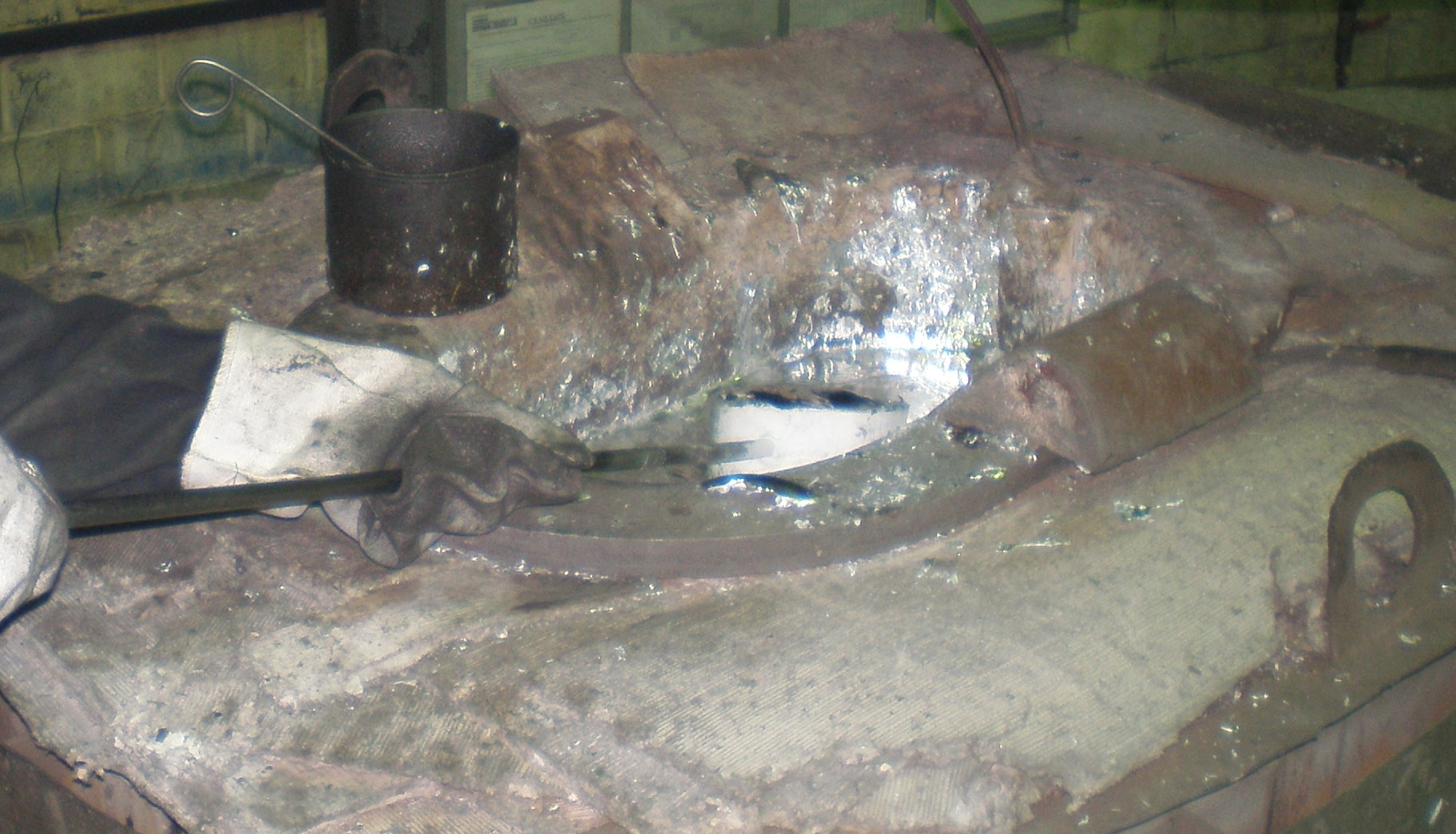 оборудование для литья алюминия,печь сопротивления