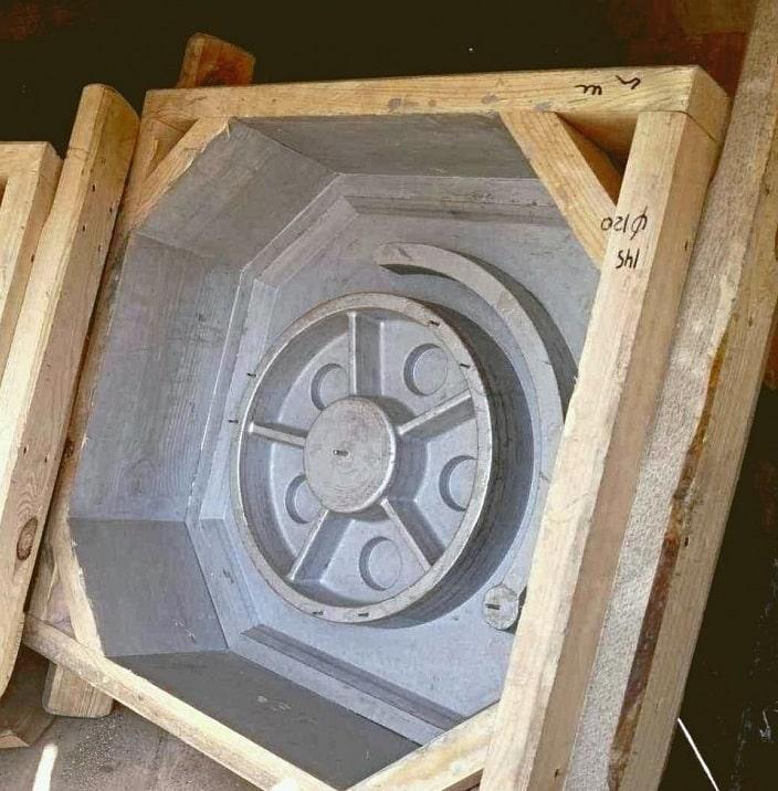 деревянный стержневой ящик