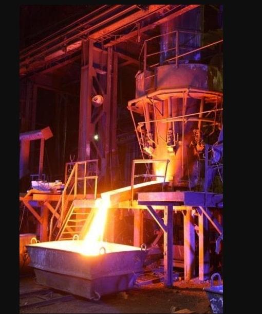 выпуск металла из вагранки
